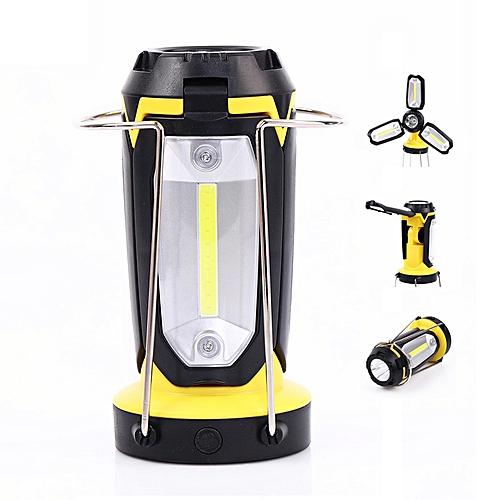 LED Flashlight Camping Hiking Emergency Rechargeable Light