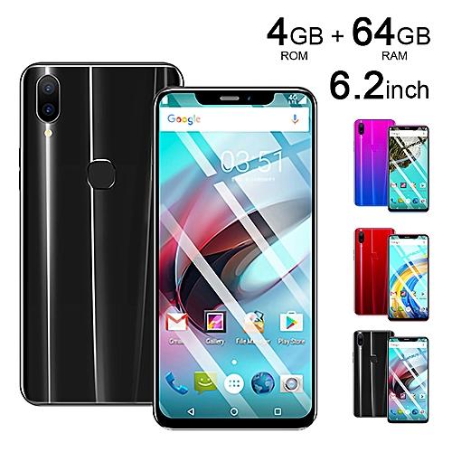 X21 Mobile Smart Phone Black 6.2 Inch 4G + 64G Android 8.1 Oreo Dual SIM
