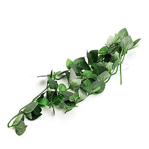Reptile Vivarium Realistic Jungle Silk Plant Vine Decor Small Medium Large #6