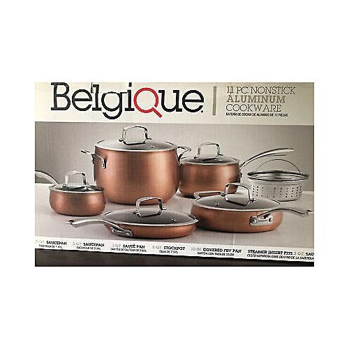 Beligique 11pc Non-Stick Aluminium Cookware Set