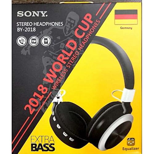 Wireless Extra Bass Bluetooth Headphones - Black