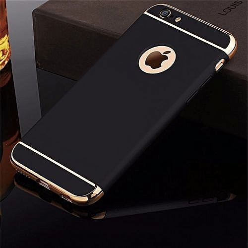 IPHONE 6S CASE,Luxury Shockproof Protection Case For IPHONE 6---BLACK