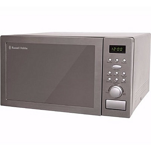 b16c08912234 Russell Hobbs RHM2574 25-Litre Powerful Digital Combination Microwave -  Silver