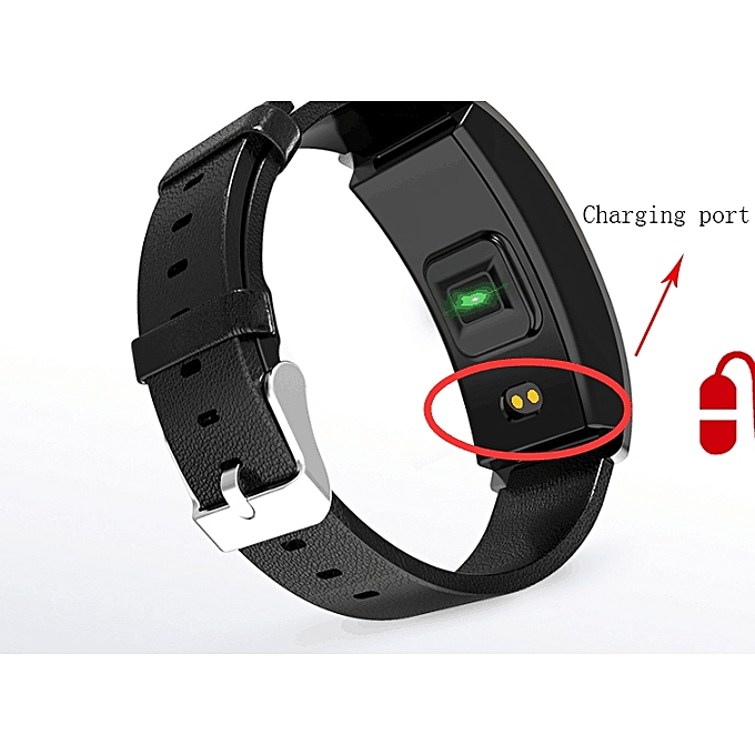 Smart Bracelet Fitness Tracker Blood Pressure Heart Rate Monitor Intelligent Activity Pedometer Wrist Watch
