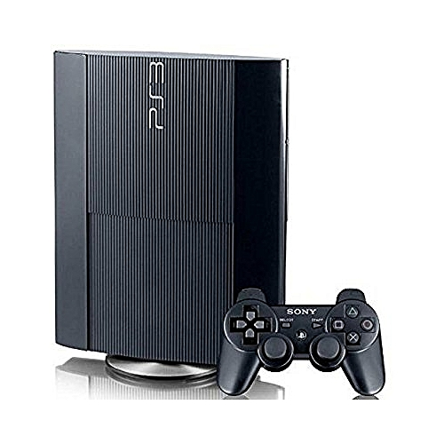 Playstation 3 Superslim System 250GB + 18 Bonus Games{FIFA19+PES18+ GTA5,GOD OF WAR,MORTAL KOMBAT&OTHERS