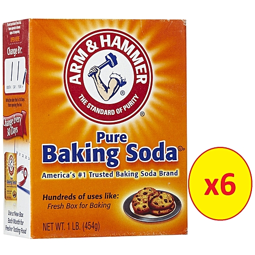Pure Trusted Baking Soda 454g Pack Of 6