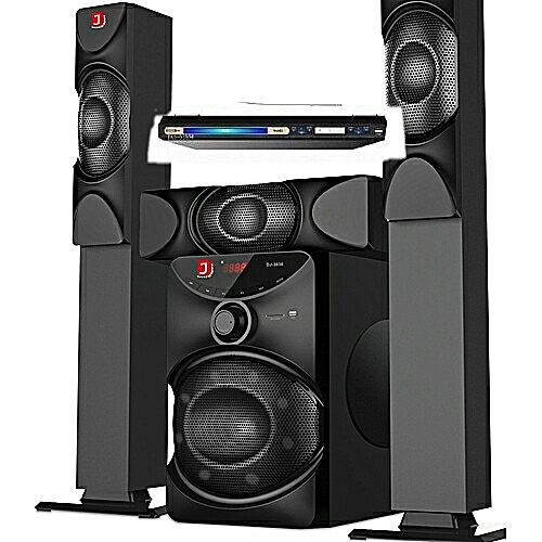 POWERFUL DJACK Home Theater System Dj 3030 With DVD Player