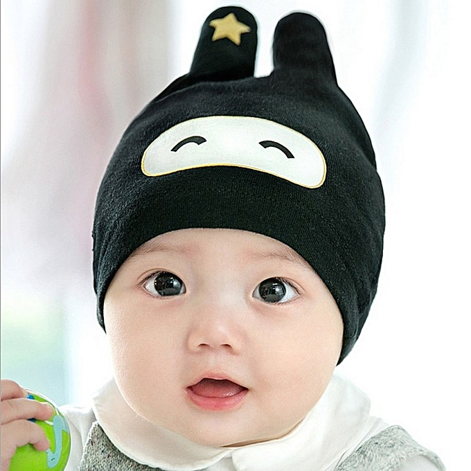 7d450c0ef0f Fashion Cute Baby Cap Cartoon Baby Hooded Child Hat Autumn And Wint ...