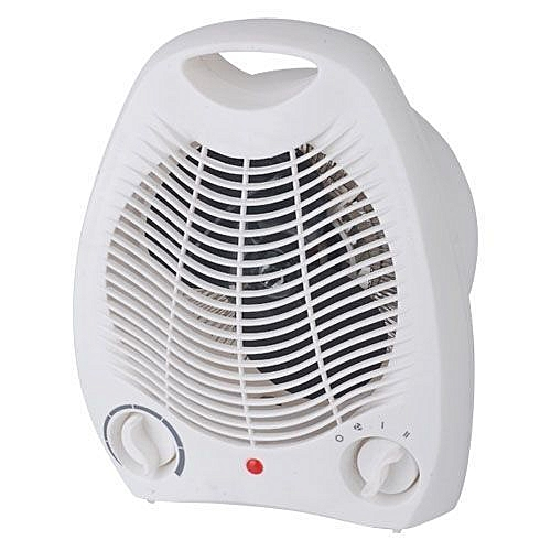 Room Fan Heater- White 1000-2000w