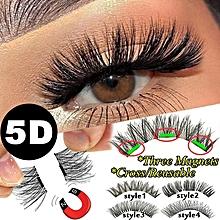 a5ea2e8cf39 Cross Magnet False Eye Lashes Extension Beauty Makeup Tools