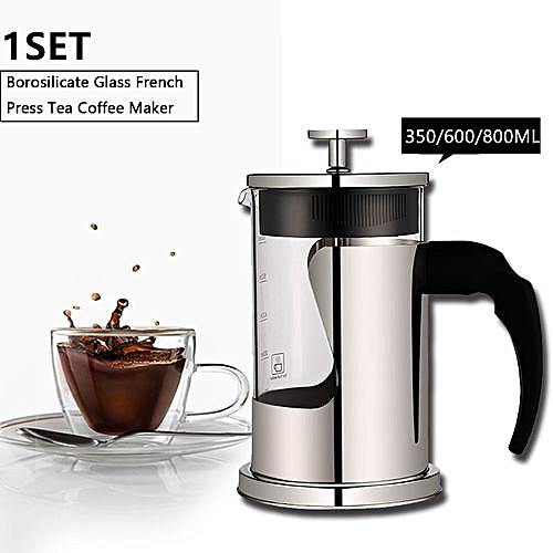 Cafetiere French Filter Tea Coffee Press Plunger Maker Pot