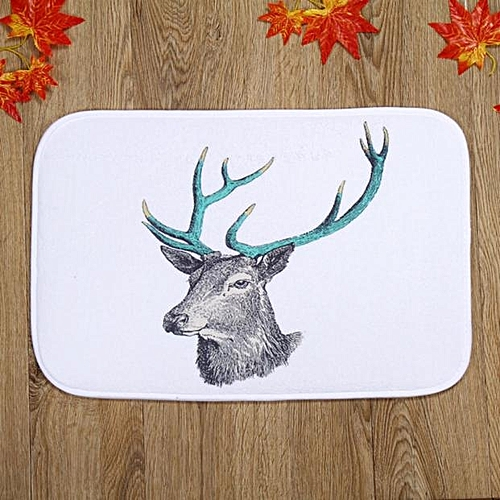 Dtrestocy Holiday Welcome Elik Mat Outdoor Indoor Festive Christmas Decor Doormat