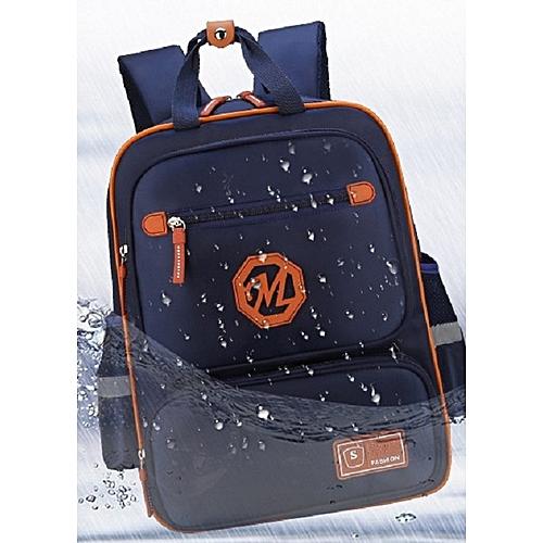 38b04ffa0145 Fashion School Bag For Boys Girl Waterproof Backpack - Blue