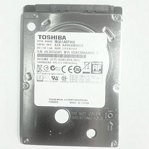500GB Laptop Internal Hard Drive 2.5 Slim