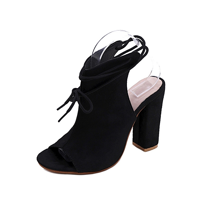 46f78bf9549 Bliccol High Heel Shoes Women s Shoes Platform Ladies Sandals Ankle Strap Peep  Toe High Heel Shoes