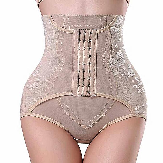 51ceaed4d Ladies Underwear Abdomen Women Panty Girdle Stretchy 5 Size 2 Colors Corset  Control Pantie Women Underwear