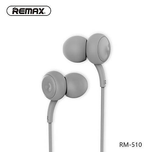 Portable In-ear High Quality Music Earphone RM-510 Grey