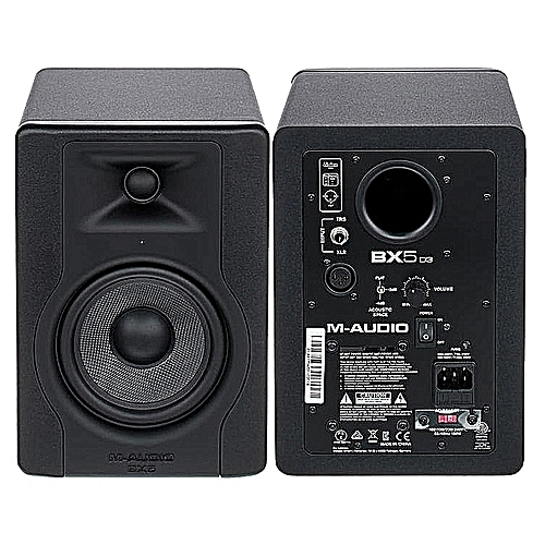M-Audio BX5 D3 2-Way 5inch 100W Powered Studio Monitor (Pair)