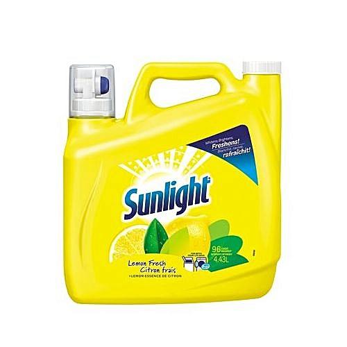 Laundry Detergent Lemon Fresh With Lemon Essence