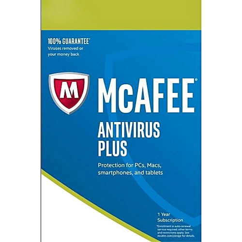 Antivirus Plus 2019 10 PC 12 Months License Key For 10 Users
