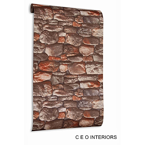 3D Bricks Effect Wall Paper