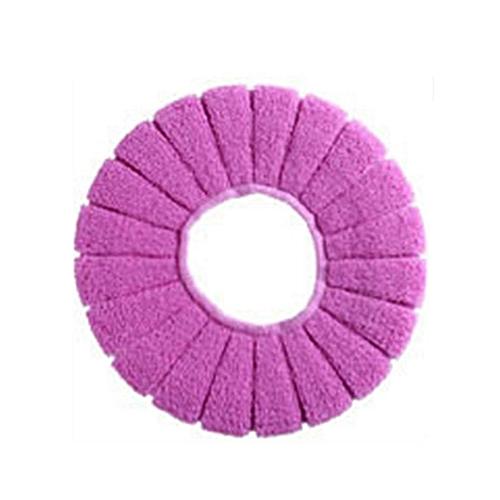 Soft Autumn Winter 29cm Pumpkin Shape O Type Acrylic Toilet Closestools Cover Pink