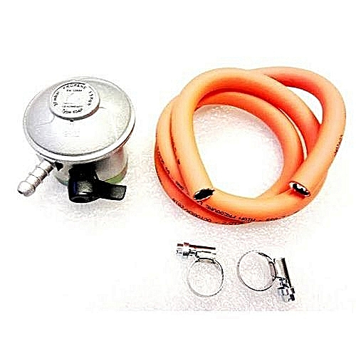 Generic Gas Regulator With Meter And Leak+Hose,Clips
