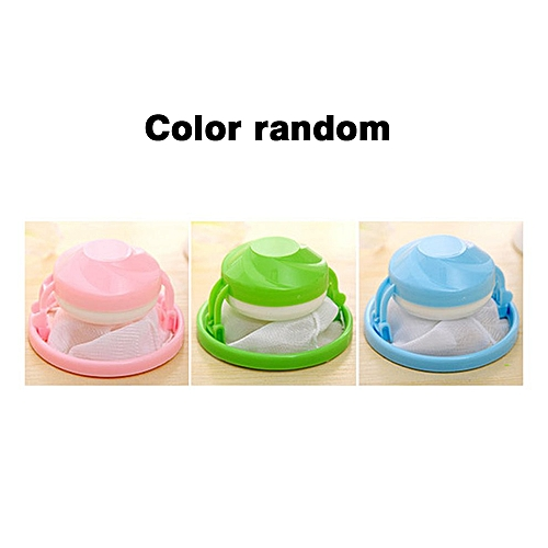 Flower Shape Mesh Filter Bag Laundry Ball Floating Style Washing Machine Filtration Hair Removal Device House Cleaning Tools