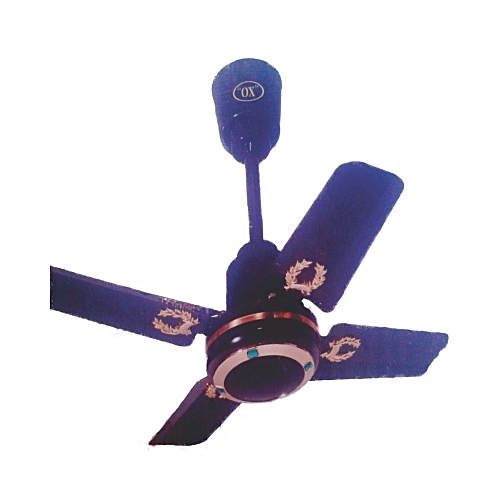 Ceiling Fan 25 Inches Short Blade Brown
