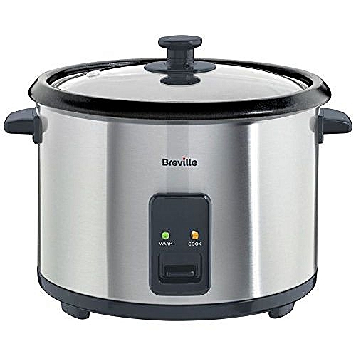 Breville 1.8L Rice Cooker And Steamer - St/Steel- 700 Watts