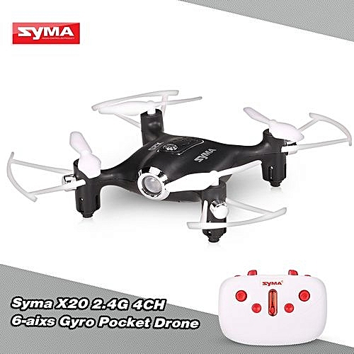 2.4G 4CH 6-axis Gyro Pocket Drone RC Quacopter RTF With Headless Mode Altitude Hold 3D-flip