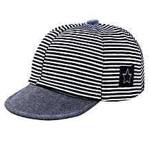 8eb2b45801184 Casual Striped Cotton Sun Cap Hat For Baby 1-2 Years
