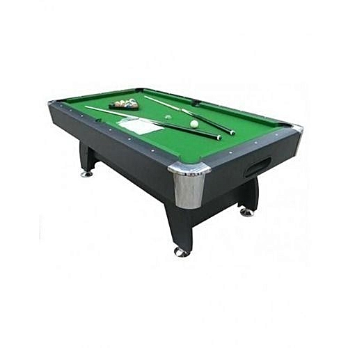 Snooker Board With Complete Accessories And Extra Cue Stick 7ft (Delivery Within Lagos ) Extra Charges Outside