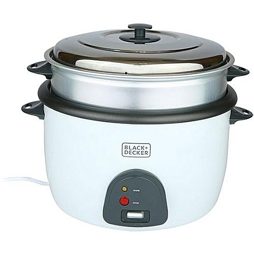 4.5L Non Stick Rice Cooker White RC4500-B5