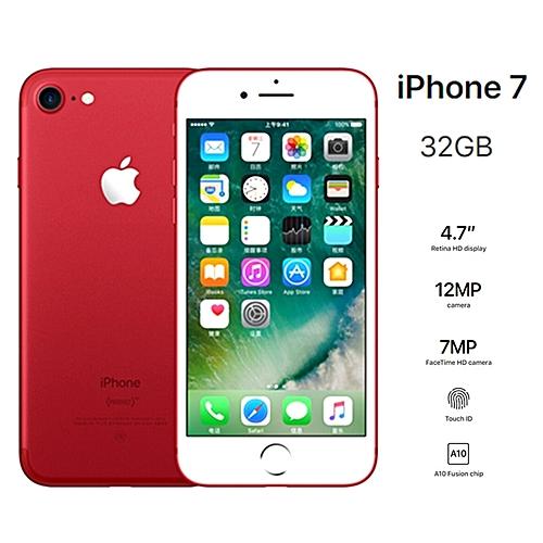 Apple Apple Iphone 7 32gb Refurbished 4 7 Red Jumia Com Ng