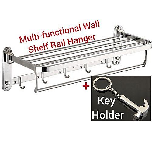 Multiple Steel Rail- Bathroom-Kitchen-Room Hanger
