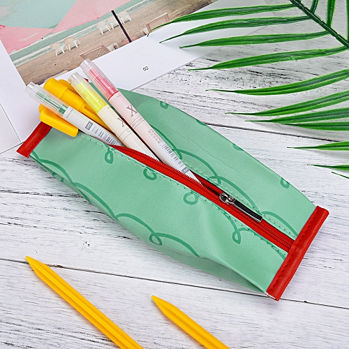 1PC Cute Fruit Pencil Cases Pencil Bag Girls Stationery Office Mini Wallet Pouch