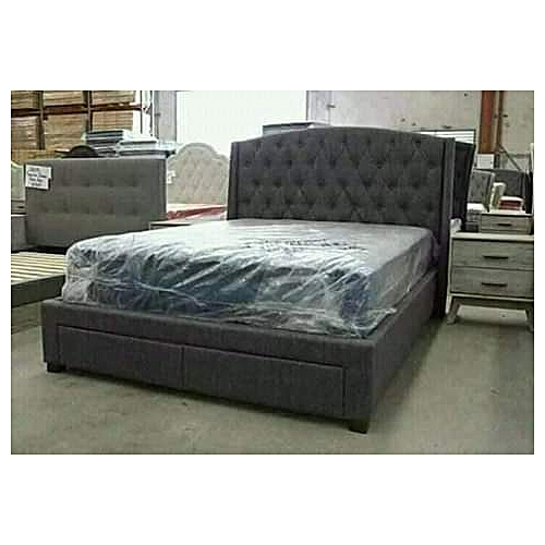 Castilo Brux 6by6Bed(NO Matress)Free Pillows+Lagos Delivery