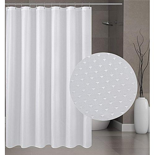 Generic Fukelann Fabric Shower Curtain Mildew Resistant Washable Water Repellent Spa Bathroom Cur