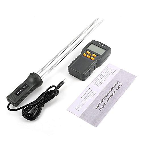 TE MD7822 Digital Grain Moisture Meter Temperature Thermometer Humidity Tester