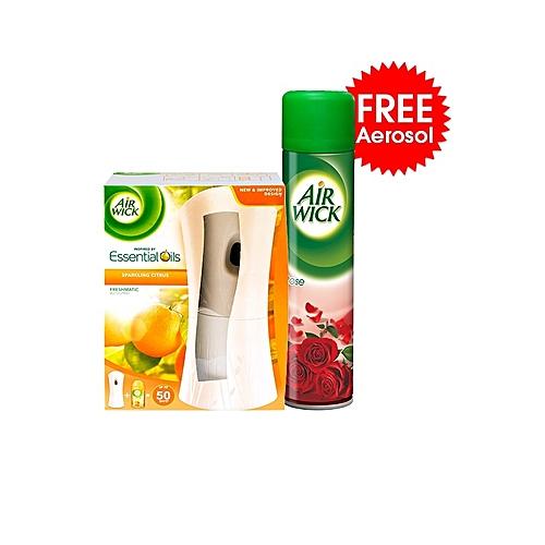Freshmatic Automatic Spray Air Freshener + FREE Aerosol