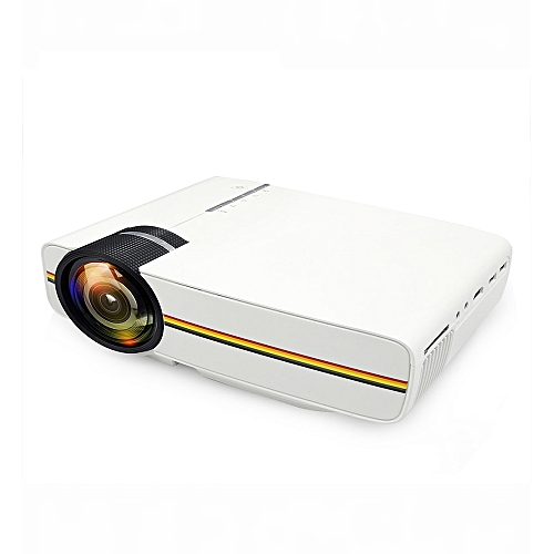 HD Smart Projector Mini Exquisite Appearance-WHITE