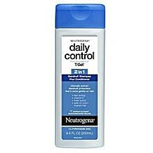 Daily Control T Gel 2in1 Dandruff Shampoo Plus Conditioner 250ml