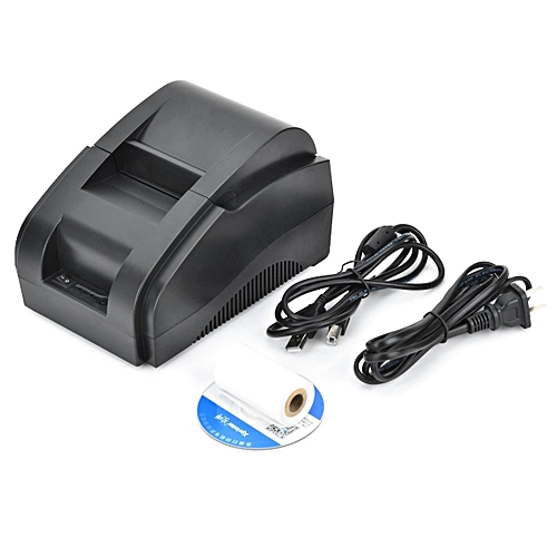Xprinter 58MM ( 2Inches) USB Portable Thermal Receipt Printer (Black)