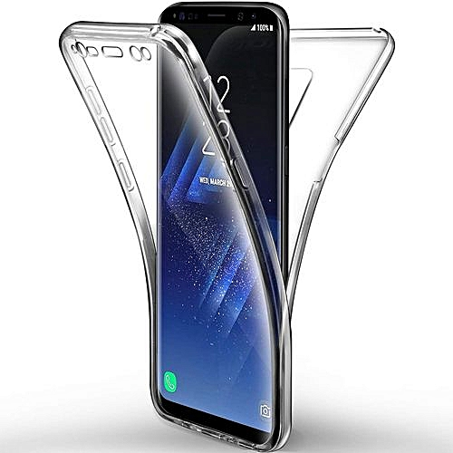 huge selection of a204e 9d375 S9 Plus 360 Transparent Case Cover Font And Back For Samsung Galaxy S9 Plus