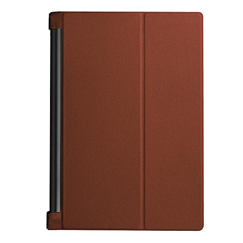 Leather Case Stand Cover For Lenovo YOGA Tab 3 Pro 10 X90F Brown