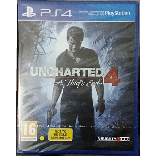 Naughty Dog PS4 - Uncharted 4: A Thief's End - PlayStation 4