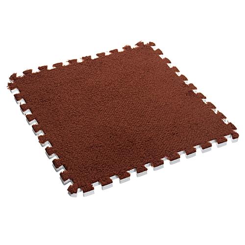 8 Colors Suede EVA Foam Floor Mat Cushion Interlocking Exercise Gym Puzzle Tiles
