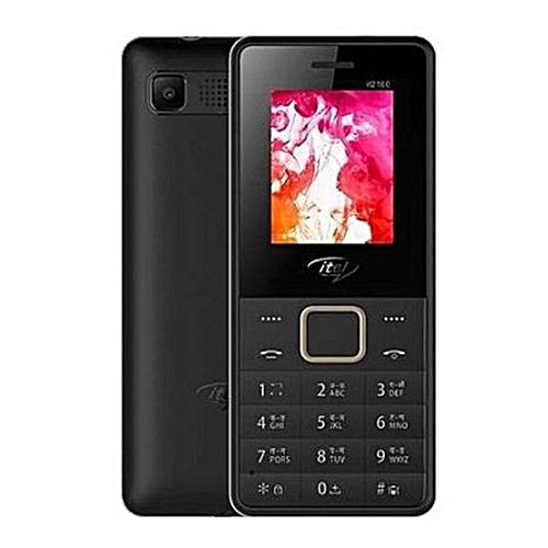 2160 Dual Sim Bluetooth, Rear Camera, Memory Card Space, Wireless FM Radio- Black
