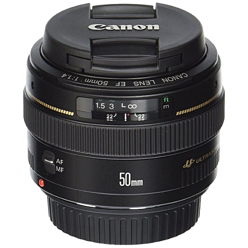 Canon 50mm/1.4f SLR Camera Lens